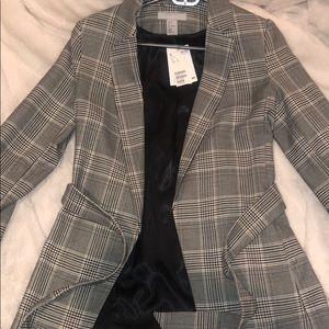 H&M blazer with tie Size 2
